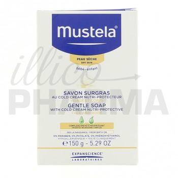 Savon surgras au cold cream nutri-protecteur Mustela