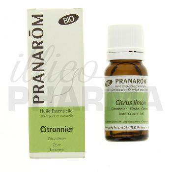 Huile essentielle Citronnier bio Pranarom 10ml