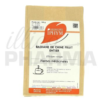 Tisane Badiane de Chine Iphym 100g