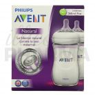 Avent natural biberon x2 260ml