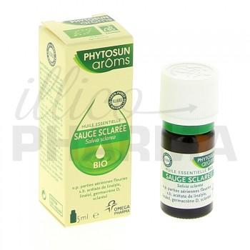 Huile essentielle Sauge Sclarée Bio Phytosun