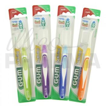 Gum ActiVital Souple Compacte Lot 8+2 offertes