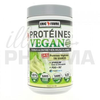 Protéines Vegan Vanille Eric Favre