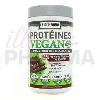 Protéines Vegan Chocolat-noisette Eric Favre