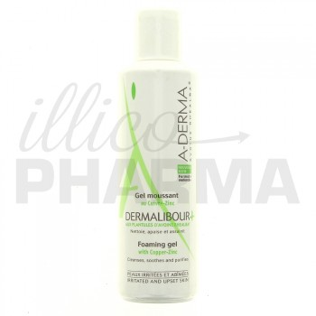 Dermalibour+ Gel moussant 250ml Aderma