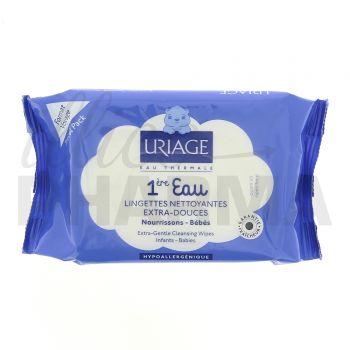 1ère eau Lingette nettoyante Uriage x25