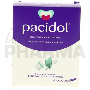 Pacidol 20 unidoses