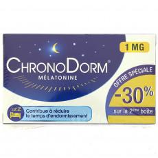 ChronoDorm Mélatonine 2 x 30cp