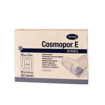 Cosmopor E 7,2X5cm 10 pansements